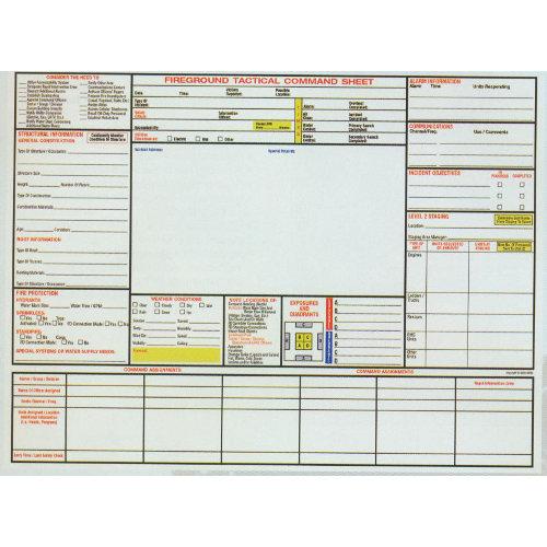 Fireground Tactical Worksheet : ABITLIKETHIS