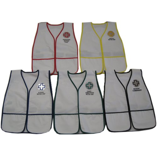 TriCon Environmental, Inc. HICS IV Vest Set - 8 Positions