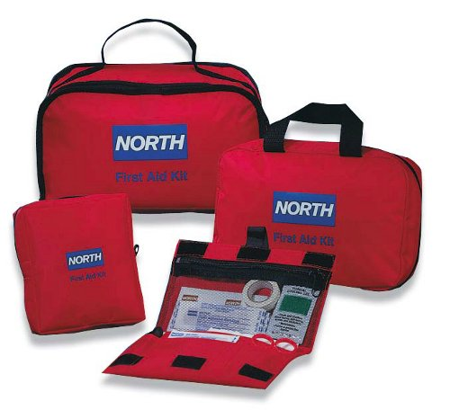 North Redi-Care First Aid Kits™, Large w/ CPR barrier, 187 pieces