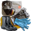 TriCon Environmental, Inc. Chem-bio Response Pak w/ North 5400 Series Gas Mask and Tychem LV Coverall
